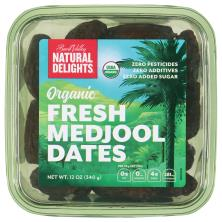 Natural Delights Bard Valley Dates, Organic, Fresh Medjool