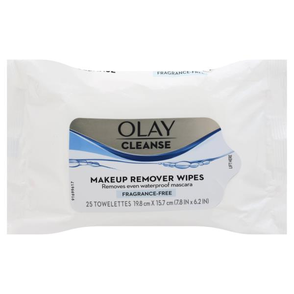 Olay Wet Cloths, Makeup Remover, Fragrance-Free