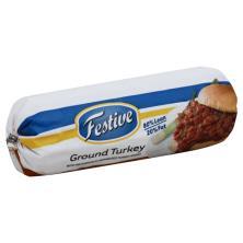 Festive Turkey, Ground, 80/20