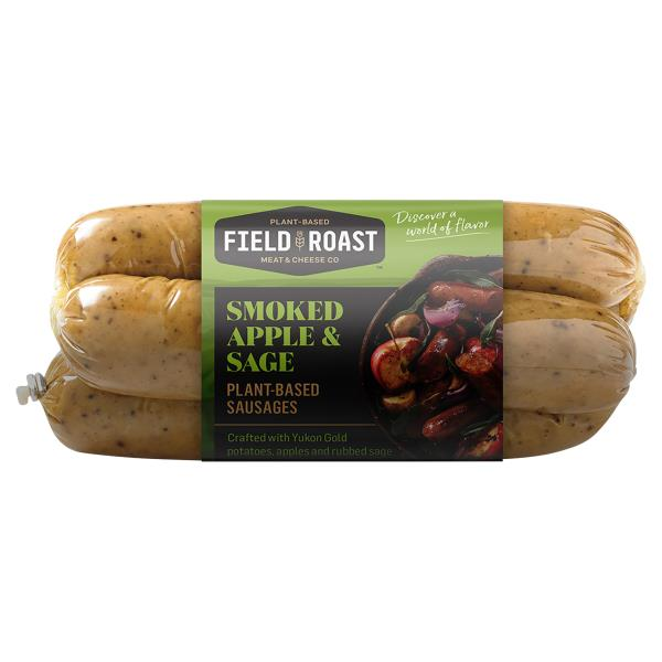 Field Roast Grain Meat Sausages, Vegetarian, Smoked Apple Sage