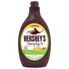 Hersheys Syrup, Simply 5, Genuine Chocolate Flavor