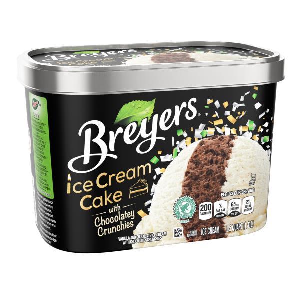 Breyers Ice Cream Cake With Chocolatey Crunchies