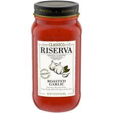 Classico Riserva Pasta Sauce, Roasted Garlic