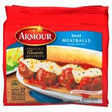Armour Meatballs, Beef