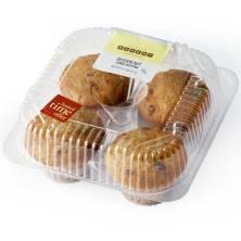 Jumbo Zucchini Nut Muffins 4-Count