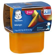 Gerber 2nd Foods Mango