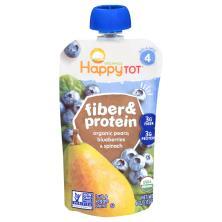 Happy Tot Organics Fiber & Protein, Fruit & Veggie Blend