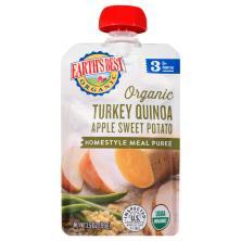 Earths Best Organic Turkey Quinoa Apple Sweet Potato, Organic, 3 (9+ Months)