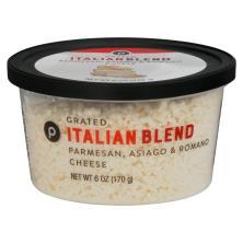 Publix Italian Blend Parmesan, Asiago, Romano, Grated Cheese