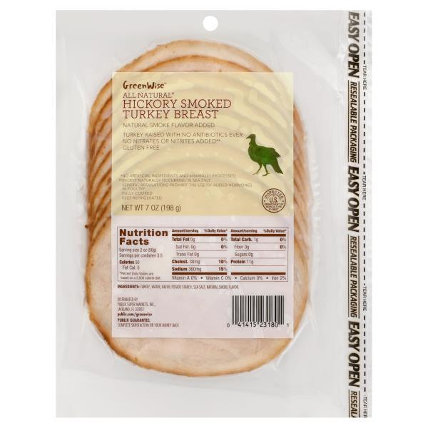 GreenWise Turkey, Hickory Smoked
