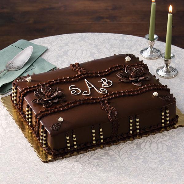 Groom's Ganache Cake