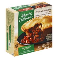 Marie Callenders Pot Pie, Chili, with Beans