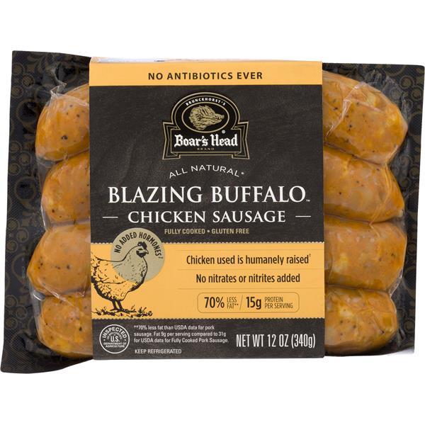 Boars Head Chicken Sausage, Blazing Buffalo : Publix com