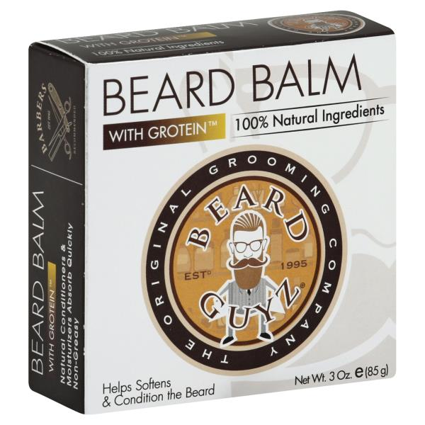 Beard Guyz Beard Balm, with Grotein