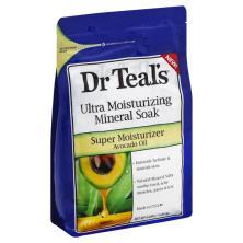 Dr Teals Mineral Soak, Ultra Moisturizing, Super Moisturizer Avocado Oil