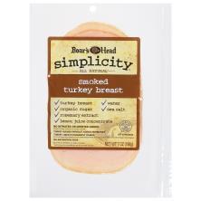 Boars Head Simplicity Turkey Breast, Smoked