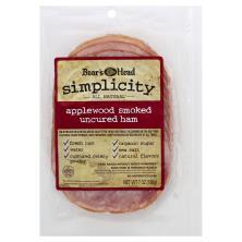 Boars Head Simplicity Ham, Uncured, Applewood Smoked