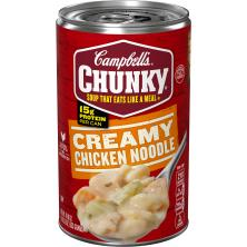 Campbells Chunky Soup, Creamy Chicken Noodle
