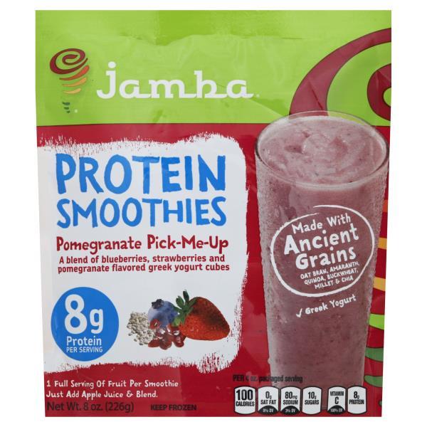 Jamba Juice Protein Smoothies, Pomegranate Pick-Me-Up