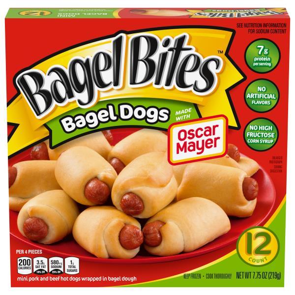 Bagel Bites Bagel Dogs Mini Publix