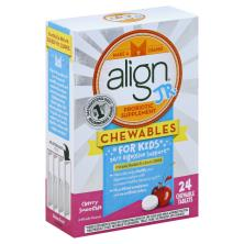 Align Probiotic, for Kids, Chewable Tablets, Cherry Smoothie