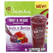 Jamba Juice Smoothies, Fruit & Veggie, Beets n' Berries