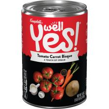 Campbells Well Yes! Bisque, Tomato Carrot