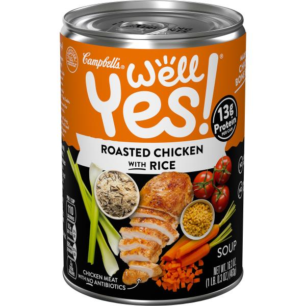 Campbells Well Yes! Soup, Roasted Chicken with Wild Rice