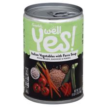Campbells Well Yes! Soup, Italian Vegetables with Farro