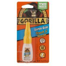 Gorilla Super Glue, Brush & Nozzle