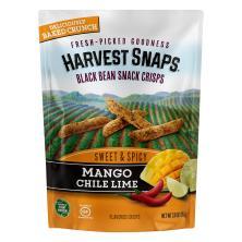 Harvest Snaps Crisps, Baked, Black Bean, Mango Chile Lime