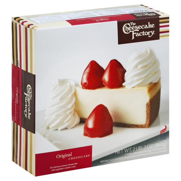 Cheesecake Factory Cheesecake, Original
