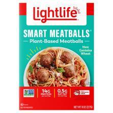 Lightlife Smart Menu Meatballs, Meatless, Veggie