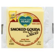 Follow Your Heart Cheese Alternative, Dairy Free, Smoked Gouda Style