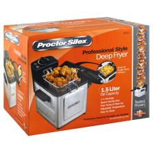 Proctor Silex Deep Fryer, Professional Style, 1.5 Liter Oil Capacity