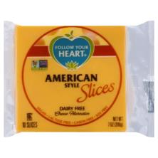Follow Your Heart Cheese Alternative, Dairy Free, American Style