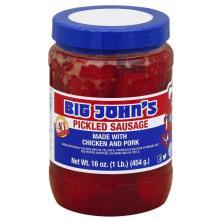 Big Johns Sausage, Pickled