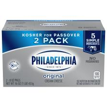 Philadelphia Cream Cheese, Original, 2 Pack