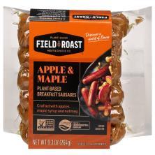 Field Roast Sausage, Breakfast, Vegan, Apple Maple