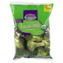 Pero Broccoli, Organic, Florets