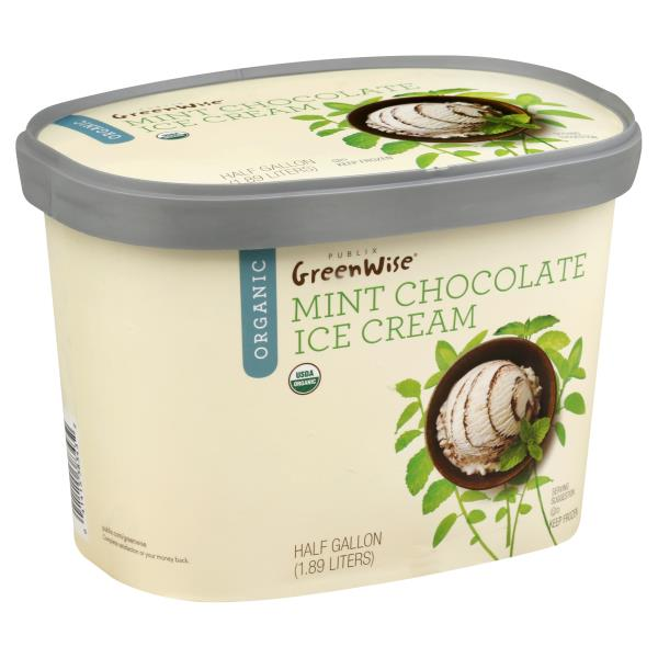 Publix Greenwise Mint Chocolate Ice Cream
