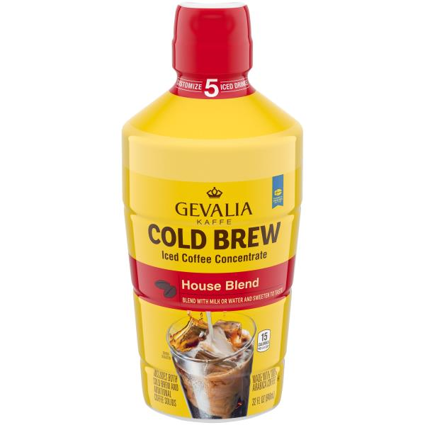 Gevalia Cold Brew Iced Coffee Concentrate House Blend