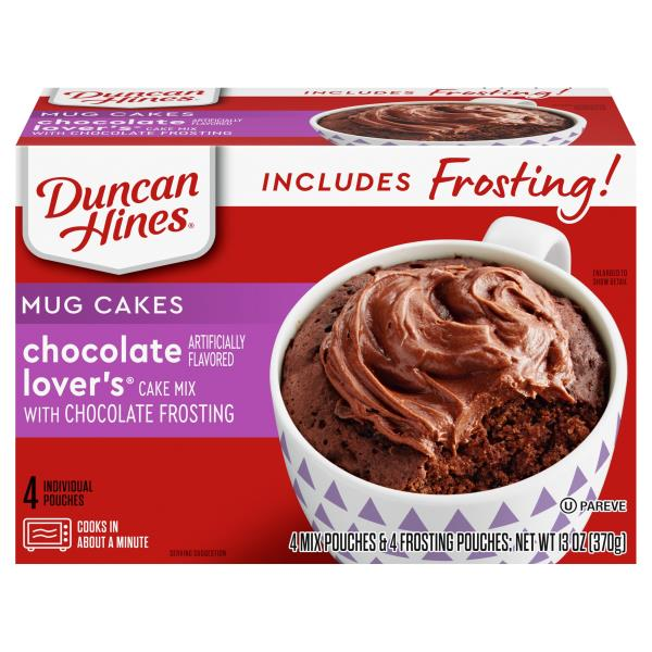 Duncan Hines Perfect Size for 1 Cake Mix, Chocolate Lover's