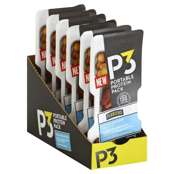P3 Portable Protein Pack, Planters on