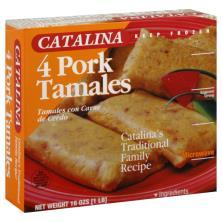 Catalina Tamales, Pork