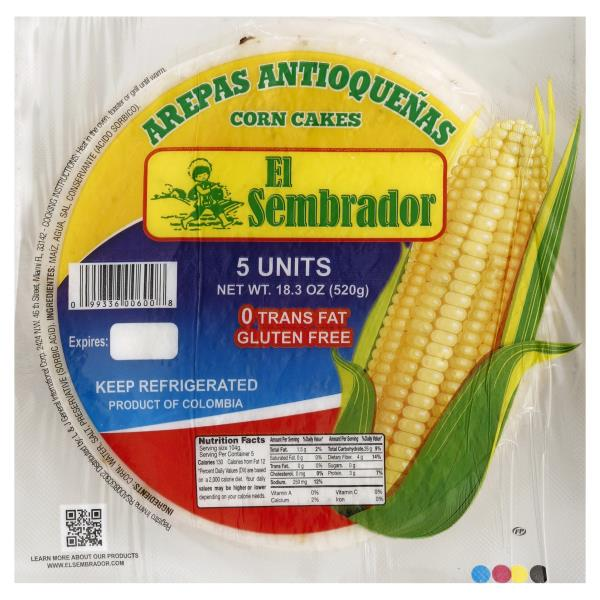 El Sembrador Corn Cakes