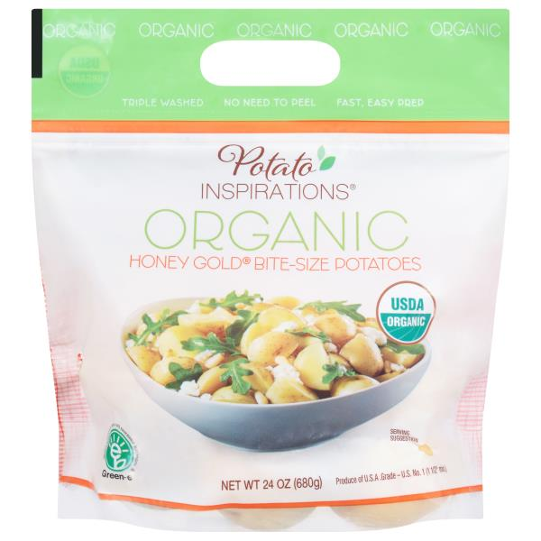 Potato Inspirations Potatoes, Organic, Honey Gold, Baby