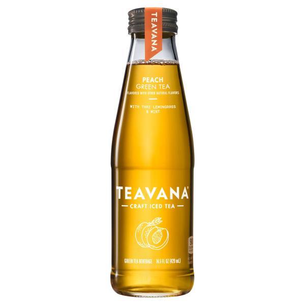 Teavana Green Tea, Peach, with Lemongrass & Mint