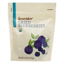 GreenWise Blueberries, Organic, Dried