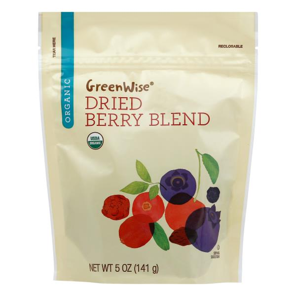 GreenWise Berry Blend, Organic, Dried